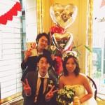 お客様の結婚式。